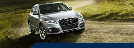 silver used Audi Q5 Vancouver