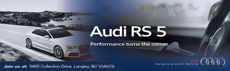 Used Audi RS 5 in Surrey, BC